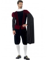 Mens Tudor Lord Deluxe Costume