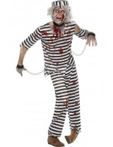 Mens Zombie Convict Costume