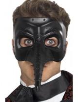 Mens Venetian Gothic Capitano Mask