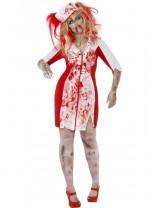 Ladies Curves Zombie Nurse Costume