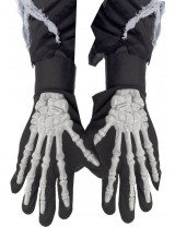 Skeleton Gloves, Adult