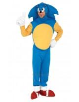 Mens Sonic the Hedgehog Adult Costume