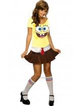 Ladies Adult Sponge Babe Costume