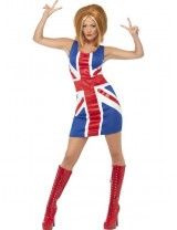 Geri Halliwell Ginger Spice Girls Costume
