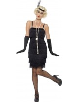 20s Black Flapper Costume