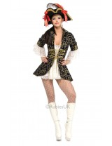 Ladies Pirate Queen Costume