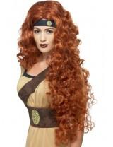 Ladies Medieval Warrior Queen Wig