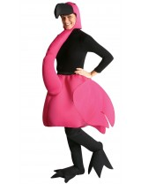 Flamingo Costume for Adults