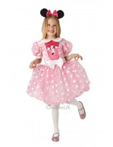 Girls Pink Glitz Minnie Mouse Costume