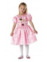 Girls Classic Pink Minnie Costume