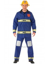 Mens Fireman Costume