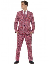 Mens Union Jack Suit Costume