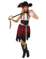 Ladies Pirate Lady Costume