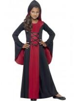 Hooded Vamp Robe Costume