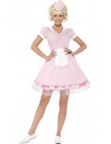Ladies 50's Diner Girl Costume