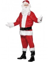 Santa Costume, Velour