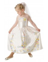 Live Action Cinderella-Wedding Dress Costume