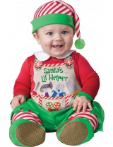 Baby Santa's Little Helper Elf Costume