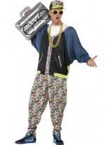 Mens 80's Hip Hop Costume