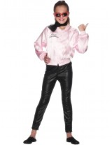 Girls Grease Pink Lady Jacket Costume