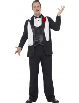 Curves Gangster Costume with Jacket Trousers