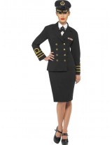 Navy Officer Costume, Female