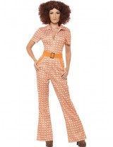 Ladies Authentic 70's Chic Costume