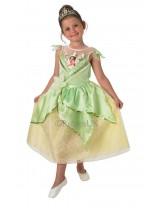 Girls Tiana Shimmer Costume
