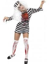 Zombie Convict Dress Costume