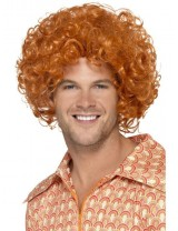 Mens Curly Afro Wig
