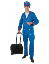 Mens Adult Pilot Costume