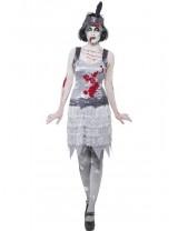 Zombie Flapper Dress Costume