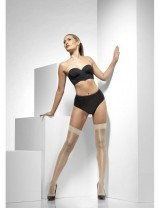 Ladies Nude Sheer Shine Hold-Ups