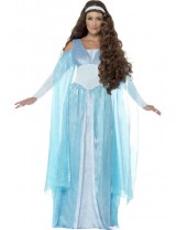 Ladies Medieval Maiden Deluxe Costume