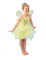 Girls Tinker Bell Light Up Costume
