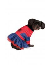 Spider Girl Dog Costume