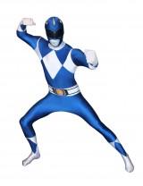 Power Rangers Blue Morphsuit Costume