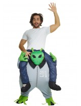 Alien Piggyback Costume Adult