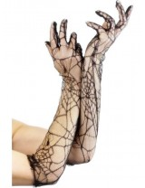 Lace Gloves, 53cm/21 inches
