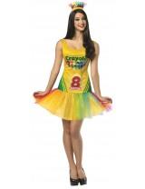 Crayola Crayon Box Tutu Dress