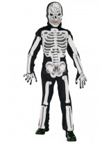 Boys Eva Skeleton Costume