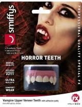 Horror Teeth Vampire with Upper Veneer Teeth