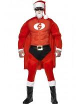 Super Fit Santa Costume