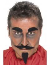 Devil Facial Hair Set