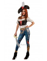 Ladies Pirate Booty Costume