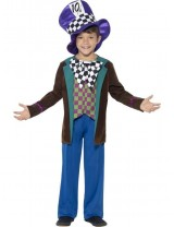 Boys Deluxe Hatter Costume