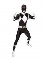 Power Rangers Black Morphsuit Costume