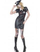 Womens Zombie Cop Costume