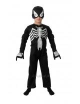Boys Black Spider-Man Costume