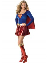 supergirl adult one piece costume rubies 888239